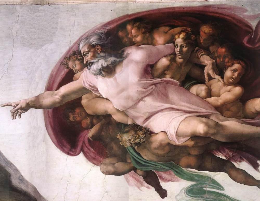 God Sistine Chapel