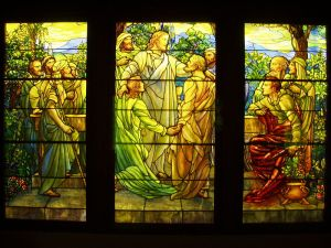800px-Christ_and_the_Apostles_-_Tiffany_Glass_&_Decorating_Company,_c._1890