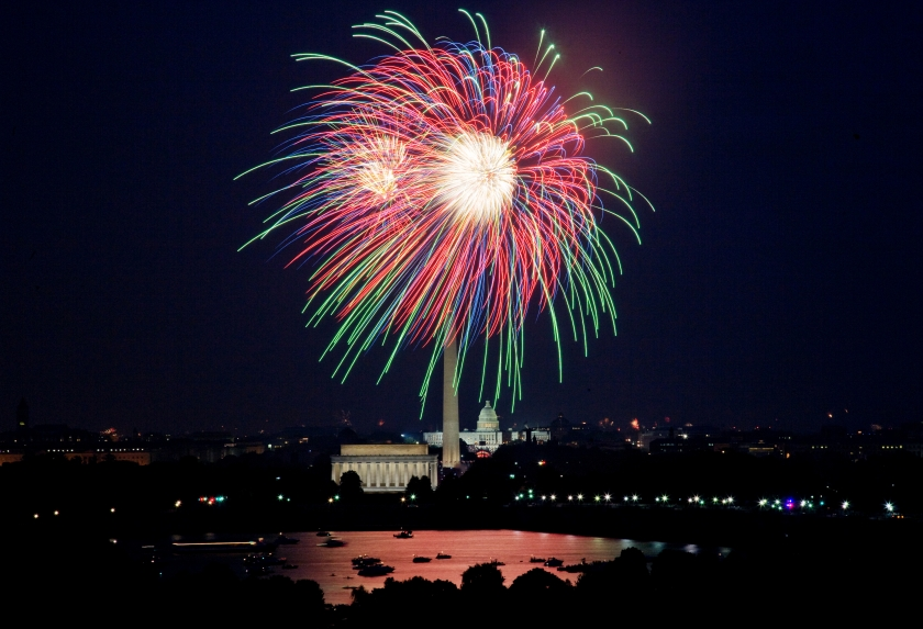Washington, D.C. July 4th fireworks