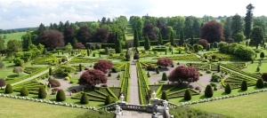 The beauty of a traditional English Garden featured here from Drummond Gardens Scotland
