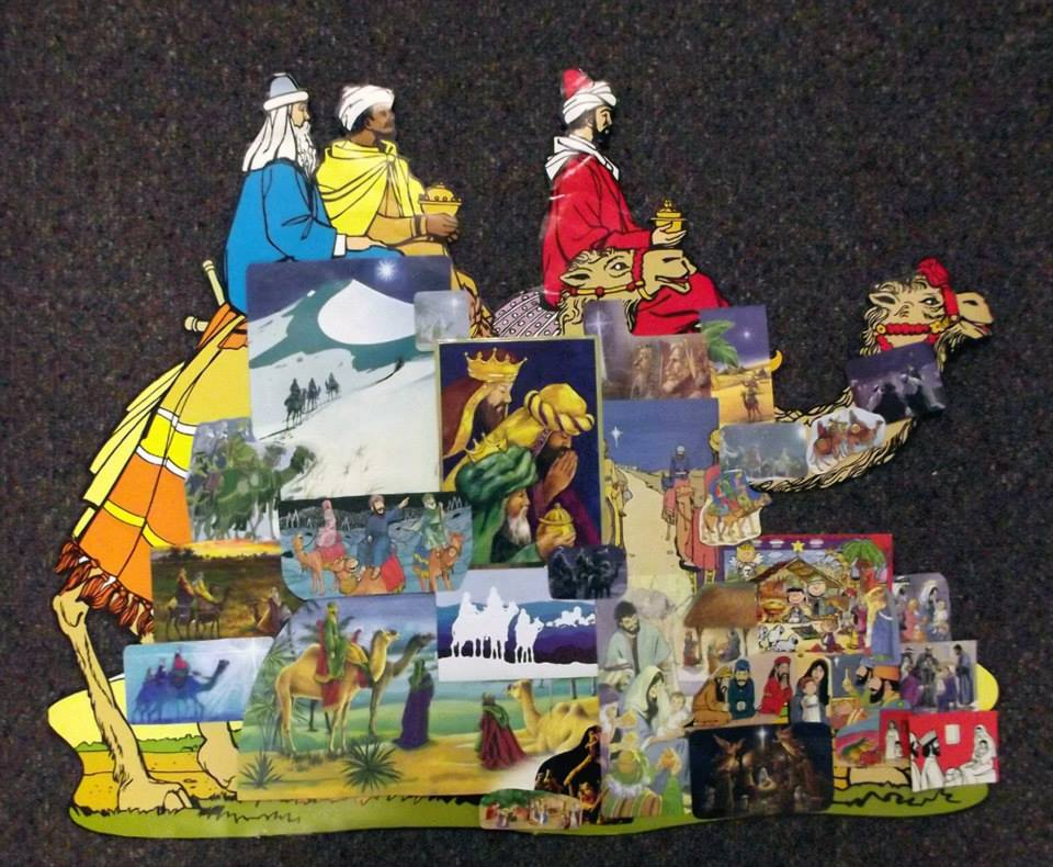 14. The Wise Men visit the New King by Rhonda Hansen
