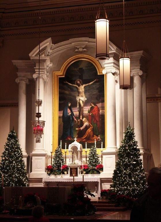 St. John the Evangelist Catholic Church, Frederick MD. photo Bill Ryan