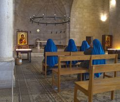 Interior of The Church of the Multiplication of the Loaves and Fish, image Dan Lundberg