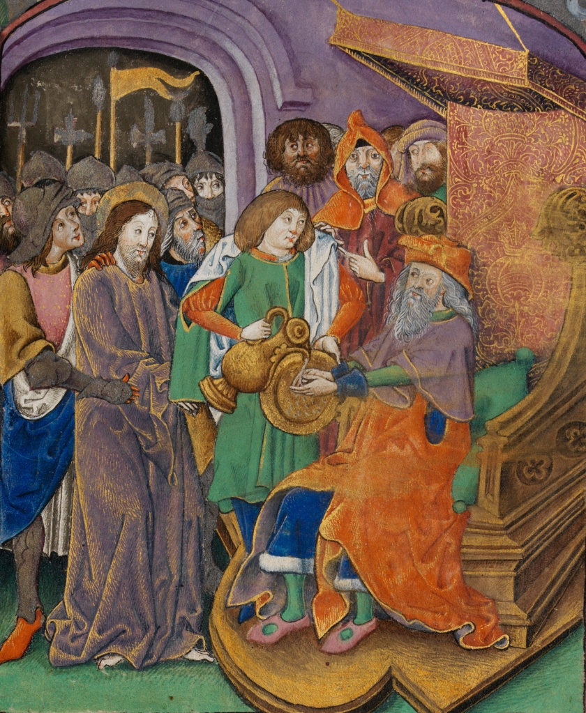 Christ_before_Pilate,_with_Pilate_washing_his_hands_(f._70)_Cropped
