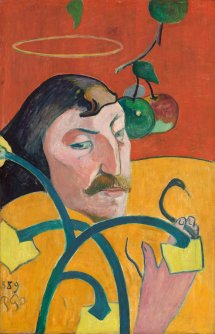 Paul Gauguin (French, 1848 - 1903 ), Self-Portrait, 1889, oil on wood, Chester Dale Collection