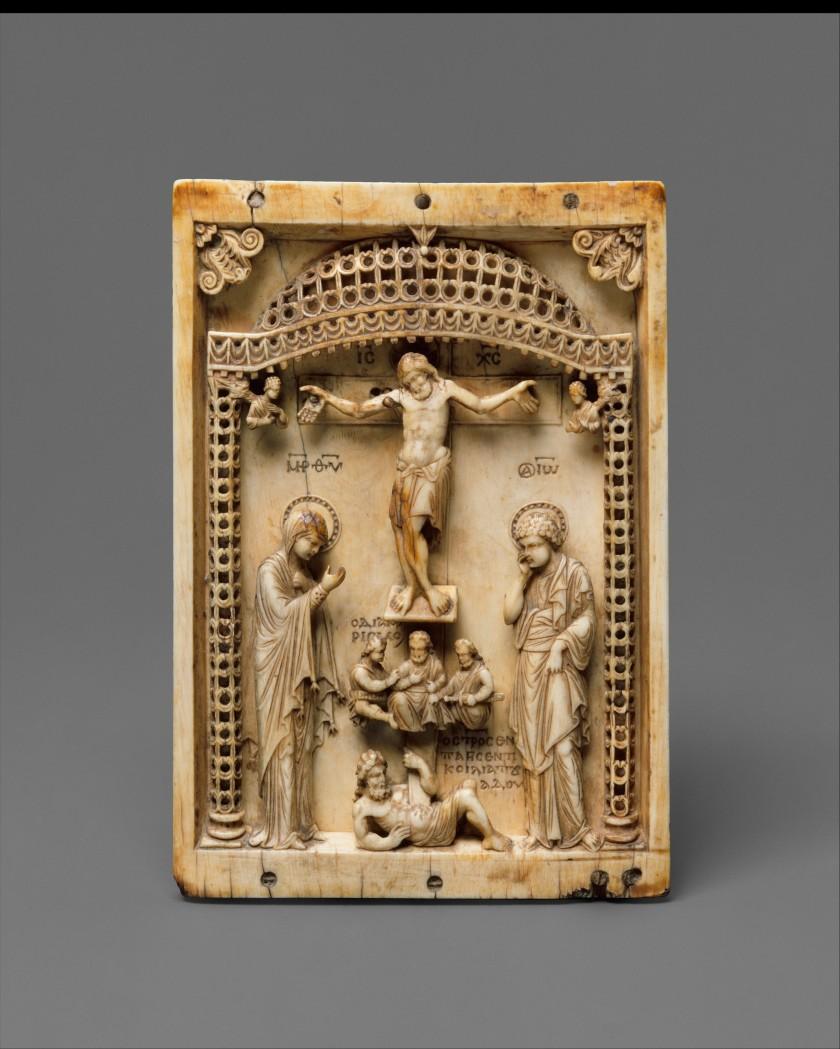Ivory Crucifixs