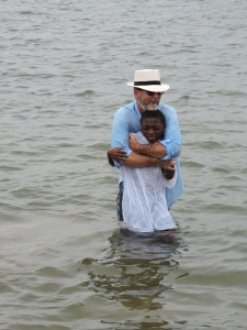 DeShawn Baptism in the River