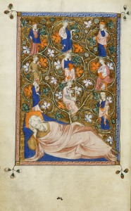 The_Tree_of_Jesse_-_The_Queen_Mary_Psalter_(1310-1320),_f.67v_-_BL_Royal_MS_2_B_VII