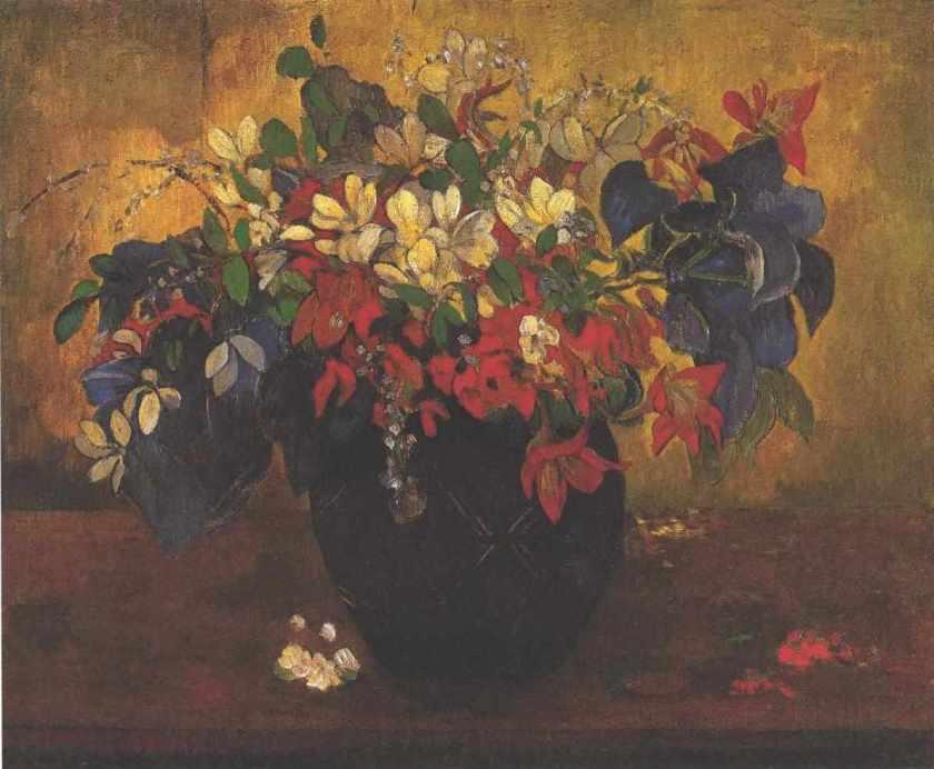 Gauguin_-_Blumenstrauß_1896